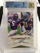 2007 UPPER DECK COLLEGE TO PROS AUTOGRAPH LADAINIAN TOMLINSON #NTN-LT LOW SERIAL