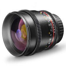 Walimex pro 85/1 5 VDSLR objektiv für Nikon 19450