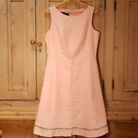 Nine West Peach Shift Dress Size 8