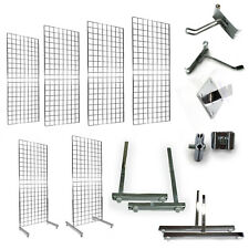 More details for grid panel grid mesh grid wall retail display shop fittings & accessories (e3ml)