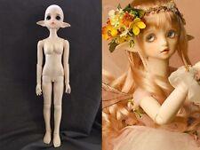 1/4 bjd doll dolls elf ear big eyes girl beautiful free eyes with face make up