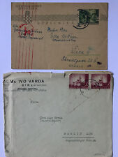 Kroatien - 2 Belege ca 1943 - siehe Galeriebilder