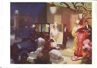 POST CARD OF ANTIQUE AUTOMOBILE ADVERTISEMENT FIAT 1913 ADVERTISEMENT