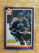 1982-83 Neilson's Gretzky #17 Fast Starts