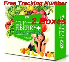 2 Boxes CTP Fiberry Ultimate Dietary Weight Loss Detoxification No side effects
