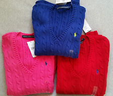 Ralph Lauren Cotton V Neck Jumpers & Cardigans for Women