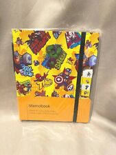 Marvel Avengers Memo Pad With Pen New