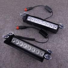 8 LED 3In1 Car Dash Emergency Strobe Flash Light Bar Warning Traffic Lamp DC 12V