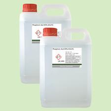 Phosphoric Acid 85% ACS Food Grade Rust Remover 2 x 2.5 Litre (5L)