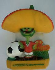 Orig. Mascotte coupe du monde Mexico 1986-bouffigue // 22 cm!!! extrêmement rare