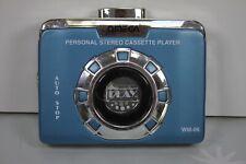 More details for omega wm-06 blue personal stereo cassette