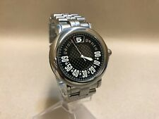 "Gerald Genta 41mm ""Retro Sport"" Jumping Hour Retrograde Automatic Date Watch"