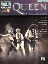 Queen Violin Play-Along #68 Violine Geige Noten mit Download Code