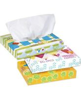 Kleenex White Facial Tissue, 2-Ply-40 Tissues/box-Pack of 5 boxes