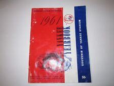 1961 YANKEE YEARBOOK SOUVENIR - MICKEY MANTLE, ROGER MARIS, YOGI BERRA BBA6