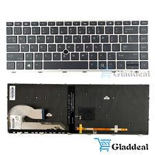 New listing New Us Keyboard Backlit For Hp Elitebook 745 G5 840 G5 L14377-001 L11307-001