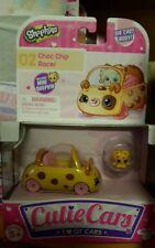 NEW SHOPKINS CUTIE CARS #02 CHOC CHIP SOFT TOP DIE CAST BODY WITH MINI SHOPKIN