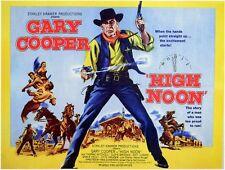 'High Noon'  FILM POSTER  FRIDGE MAGNET