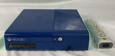 Microsoft Xbox 360 E Model 1538 Blue & Teal Special Edition Console Only 500Gb