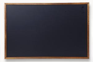 Wood Framed Chalkboard 36x24 Large Magnetic Rustic Wall Chalk Board Hanging