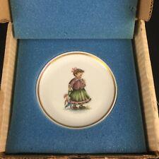 Vtg Miniature Collector Plate by Berta Hummel Museum Playtime Schmid 1980