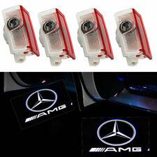2/4 Mercedes Benz Projector Car Door LED Courtesy Lights Puddle Ghost Laser LOGO