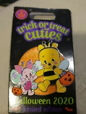 Disney Parks Halloween Trick Or Treat Cuties Le Pin 2020 Bee Pooh Piglet New