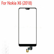 New Black Touch Screen Front Glass Panel Lens Replacement For Nokia X6 (2018)