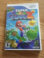 Super Mario Galaxy 2 Nintendo Wii  Brand New Sealed (works On Wii U Too) Nice