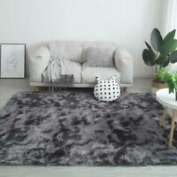 Shaggy Rug Floor Carpet Living Room Bedroom Area Mat Fluffy Rug Large Soft T1Y5