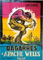 Plakat Kino Western Bagarre A Apache Wells - 120 X 160 CM
