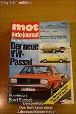 MOT 11/73Der neue VW Passat Ford Escort RS 2000