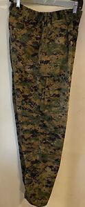 USMC COMBAT US MARINE CORPS UNIFORM Woodland Marpat Digital PANTS MEDIUM REGULAR