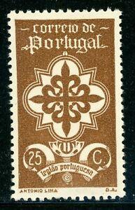 PORTUGAL MH Selections: Scott #582 25c Portuguese Legion (1940) CV$20+