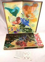 Vintage 1975 1980 RISK Board Game Parker Brothers World Conquest Complete