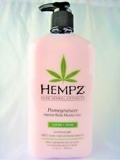 Hempz Pomegranate Herbal Body Moisturizer Lotion 17oz