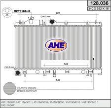 Radiatore SUBARU LEGACY IV (BL) 2.0 AWD 101kw 03-