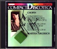 Martha ARGERICH Signiert CHOPIN Piano Concerto 1 ROWICKI 1965 Chopon Competition