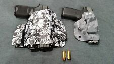 Gun Holster, Kydex, Holstex right and left hand, TAC5HOLSTERS
