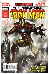 Indomitable Iron Man 1    One shot  Marvel 2010