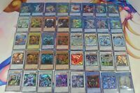 Yugioh 200 All Holo Card Lot Collection Playable Egyptian Gods Deck Staples Rare