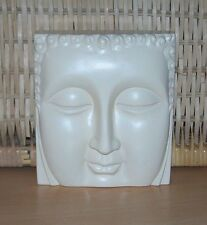 Simply Beautiful Thai Buddha's Face Wall Plaque - Nemesis Now - Brand New in Box