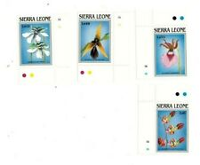 VINTAGE CLASSICS - Sierra Leone 1078-85 Flowers - Set Of 4 - MNH