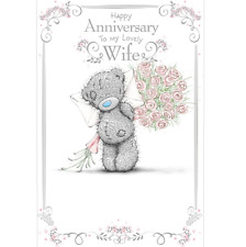 Me to You Tatty Teddy Wife Wedding Anniversary Card