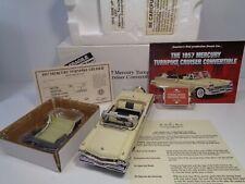 Danbury Mint 1957 Mercury Turnpike Cruiser Convertible Bnib W/ Docs Complete