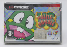 Retrogames puzzle bobble vs for nokia ngage n-gage videogames new game & watch