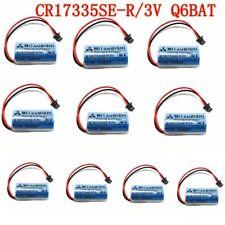 10 Pack 1800mAh MITSUBISHI CR17335SE-R/3V Q6BAT PLC Battery with Plug US Stock