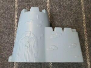 Vintage 1999 Plastic Blue Sand Castle Mold AM. D.Q Corp Building Beach Kids Toy