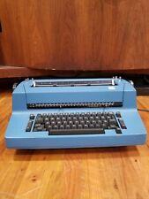 Nice Clean Ibm Selectric Ii Typewriter Withself Correction Key Navy Blue Vintage