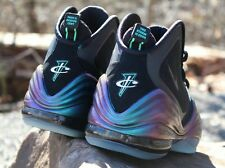 NIKE AIR PENNY V INVISIBILITY CLOAKS / GLOW IN THE DARK SOLES / SZ. 11